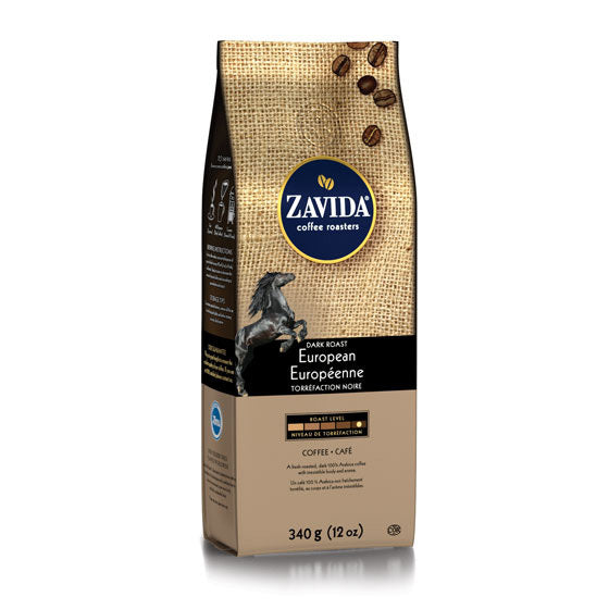 Zavida 12oz European Dark Roast Whole Beans