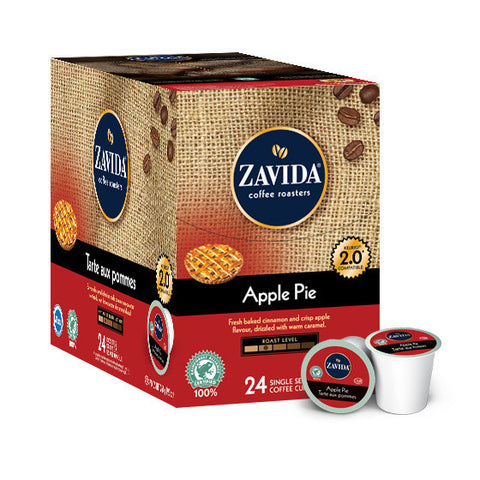 Zavida Apple Pie Single Serve Coffee