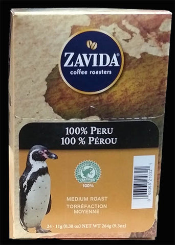 Zavida 100% Peru Coffee