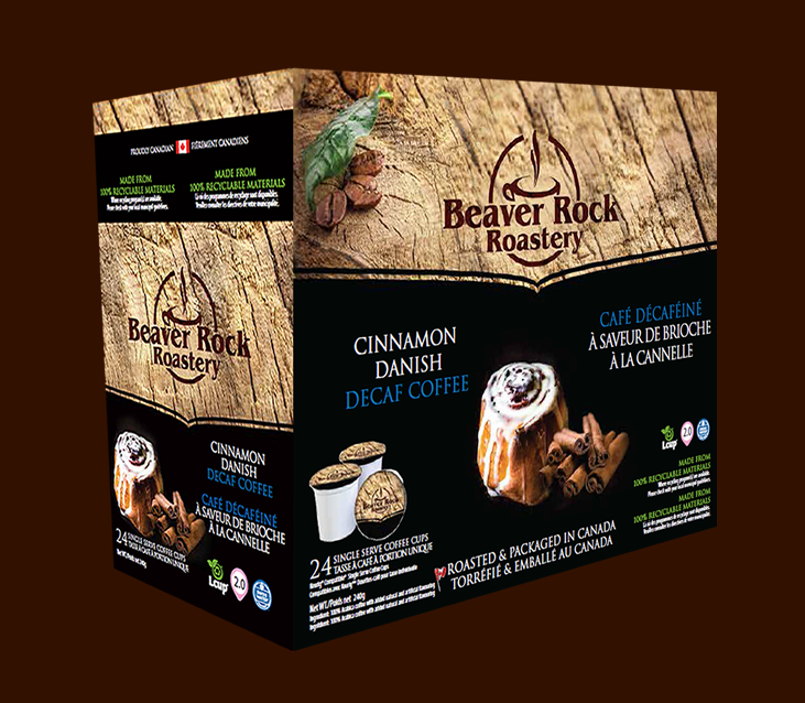 Beaver Rock Cinnamon Danish Decaf