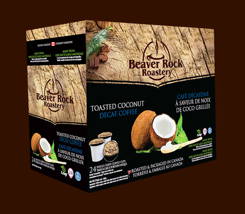 Beaver Rock Toasted Coconut Decaf