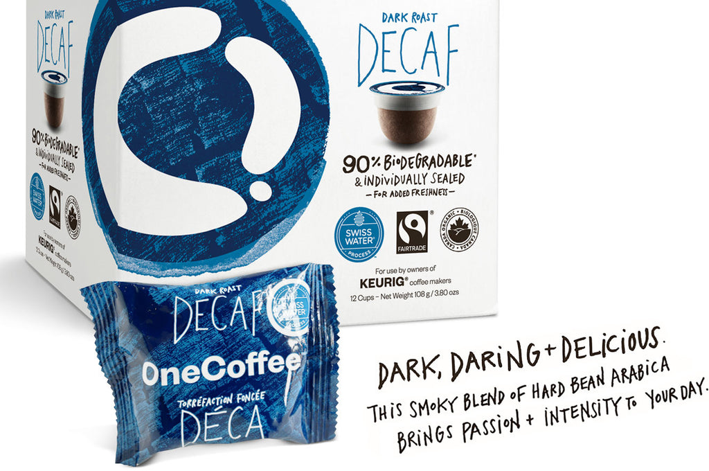 OneCoffee Dark Roast Decaf