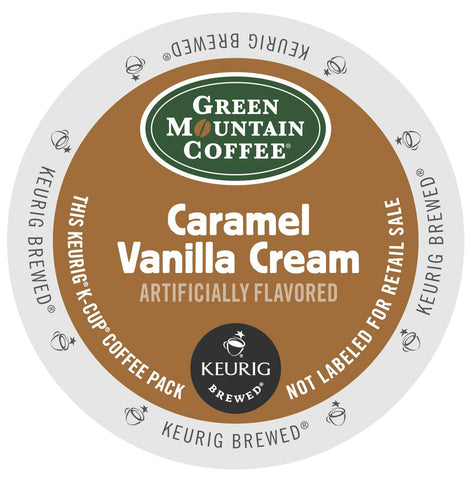 Green Mountain Caramel Vanilla Cream