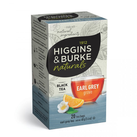Higgins & Burke Earl Grey Grove Tea Bags