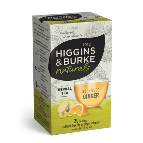 Higgins & Burke Sunkissed Ginger Tea Bags