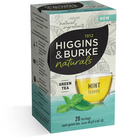 Higgins & Burke Mint Leaves Tea Bag