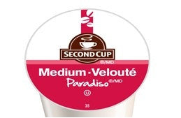 Second Cup Paradiso Medium