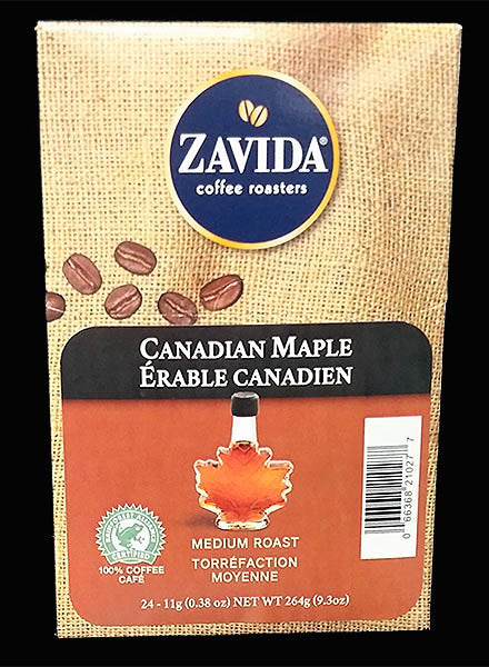 Zavida Canadian Maple Coffee