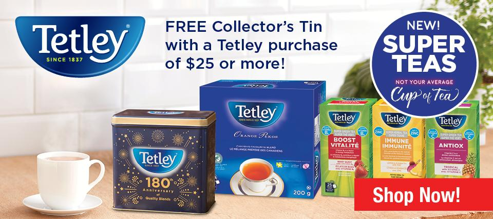 Tetley Tin Offer