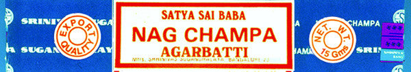 Nag Champa Meditation Incense - 15g boxes - by Satya Sai Baba