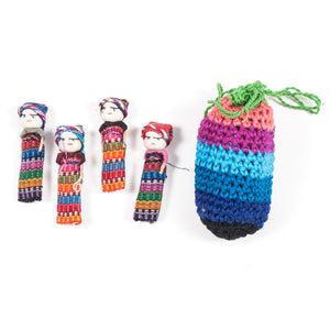 Worry Doll (Set of 4) (Guatemala)