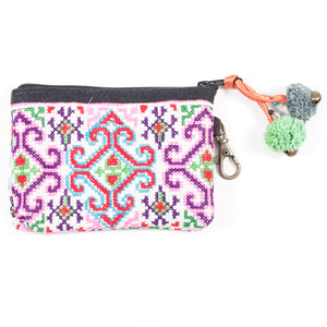 Vintage Hmong Hill Tribe Coin Purse (Thailand) - Style 5