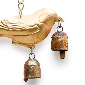 Little Sparrow Chime With Three Desert Bells