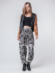 Black Diamond Harem Pants by The Elephant Pants