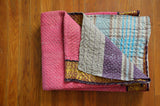 Hand Crafted Vintage Kantha Throw A