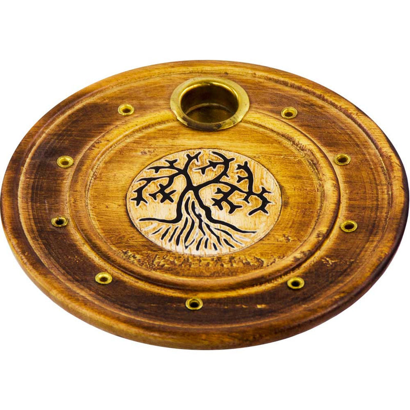 Tree of Life Incense Burner for Incense Cones and Sticks
