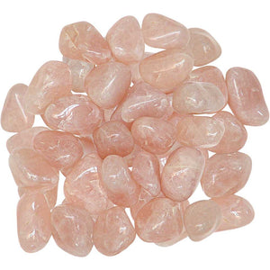 Tumbled Rose Quartz Gemstones