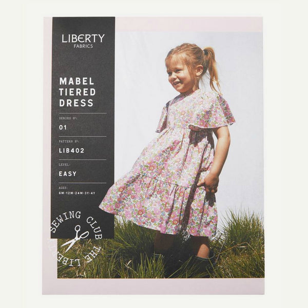 Liberty of London - Mabel Tiered Dress Girl's Sewing Pattern (Paper)