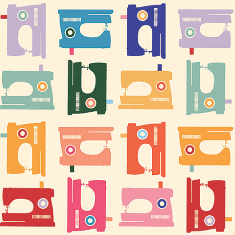 Sewing Machines in Bright