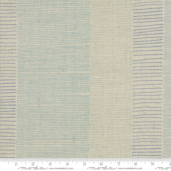 Mochi Linen CANVAS in Blue Flax