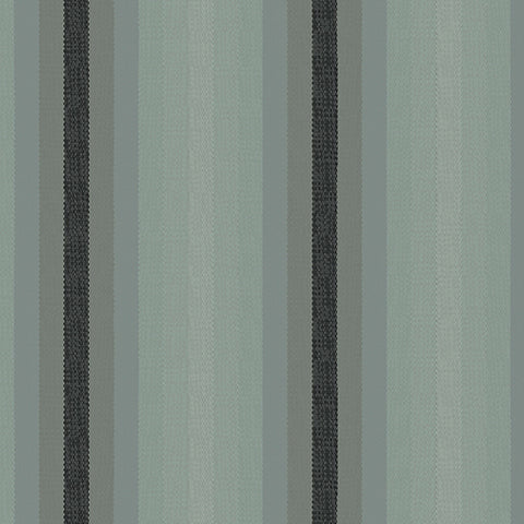 Kaleidoscope Woven Stripes in Charcoal
