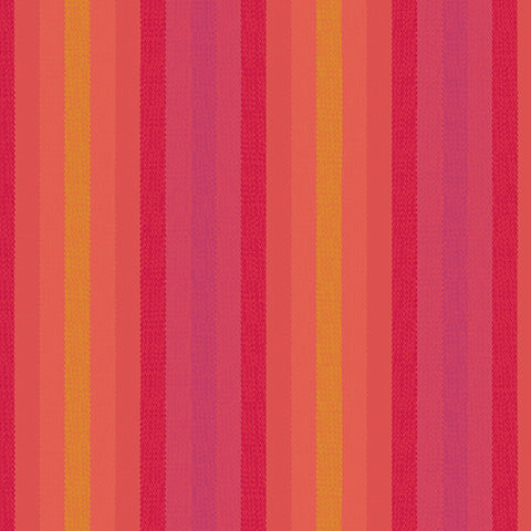 Kaleidoscope Woven Stripes in Sunrise
