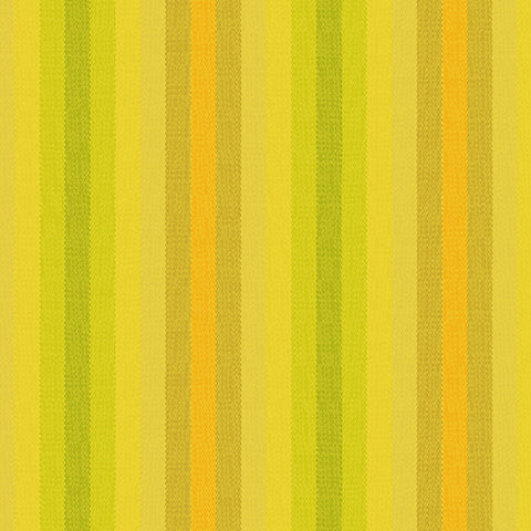 Kaleidoscope Woven Stripes in Sunshine