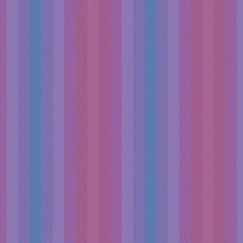 Kaleidoscope Woven Stripes in Thistle