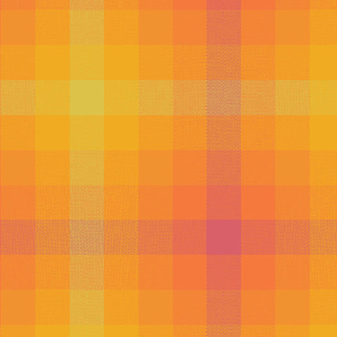Kaleidoscope Woven Plaid in Marmalade