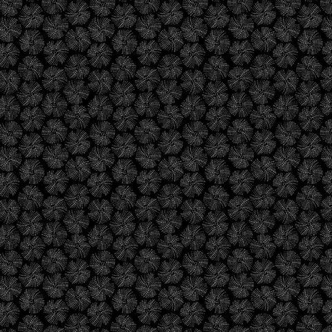 Urchin Texture in Black