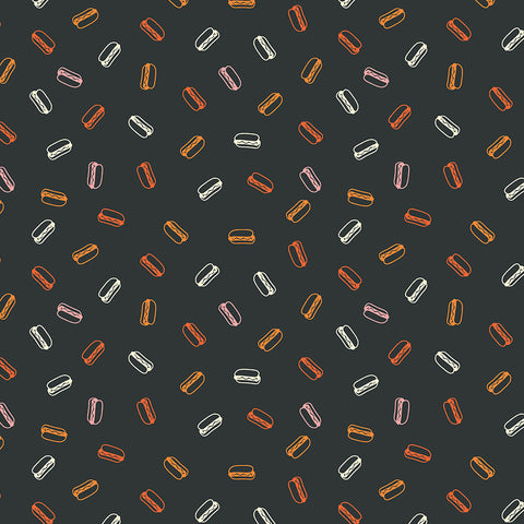 Hot Dogs in Black / Multi