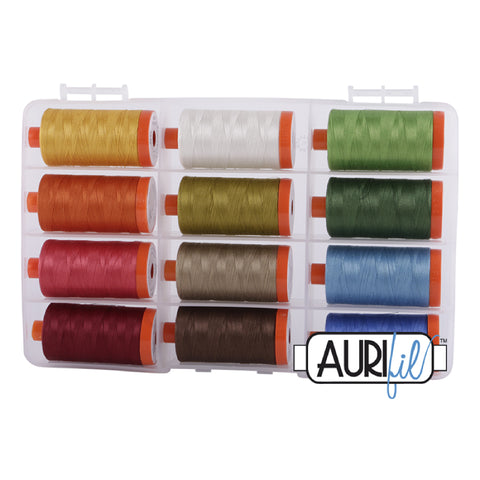 Aurifil Thread Set - The Classic Collection 50wt (set of 12)
