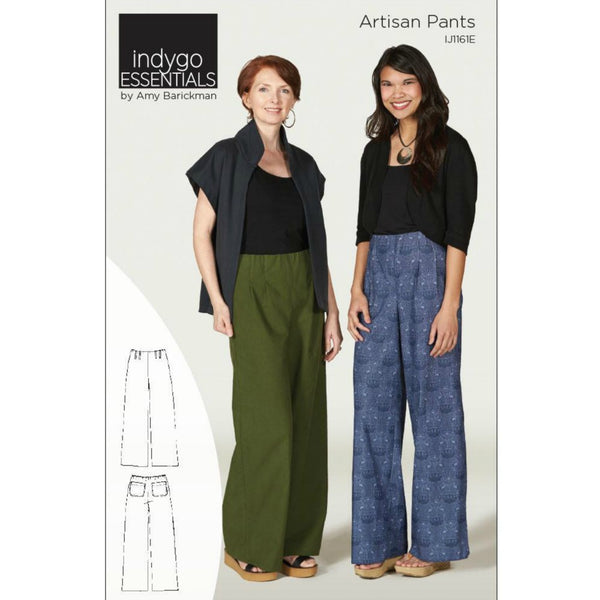 Indygo Junction - Artisan Pants Pattern (paper)