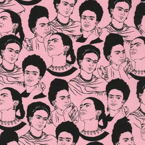 Frida Face in Pink