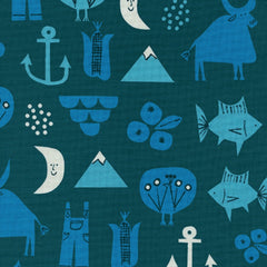 Adventure in Blue - Last Fat Quarter