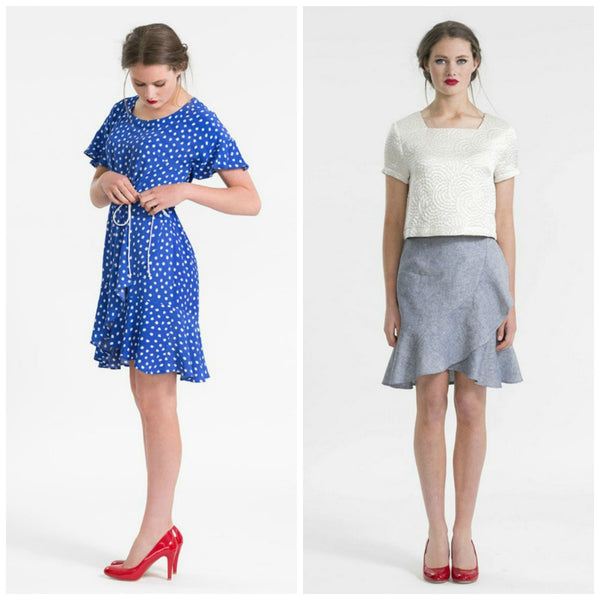 Papercut Patterns - Adrift Dress & Skirt Pattern (paper)