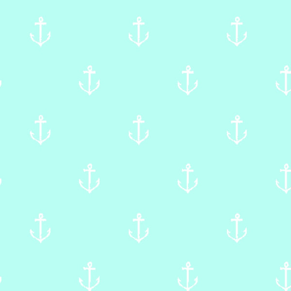 Anchors Away in Seafoam - Last Fat Quarter