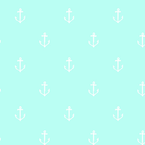 Anchors Away in Seafoam