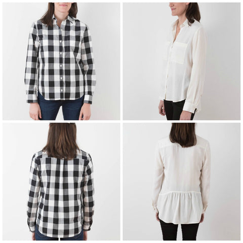 Grainline Studio Archer Button Up Shirt Pattern (paper)