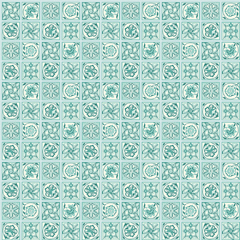 Argyll Tile A in Teal