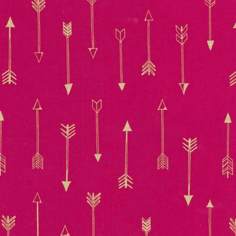 Arrows in Fuschia Metallic