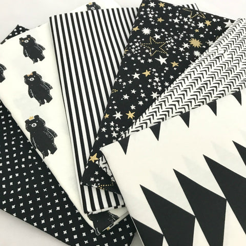 Black & White Yardage Bundle