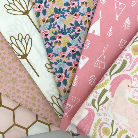 Baby Girl Fat Quarter Bundle
