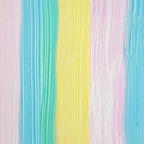 Bali Brushstrokes in Rainbow - Last Fat Quarter
