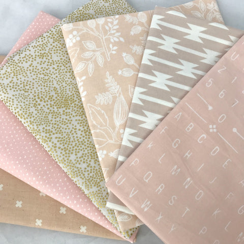 Ballet Slipper Fat Quarter Bundle