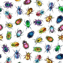 Electric Garden - Beetles in Jewel (digital spectrum print)