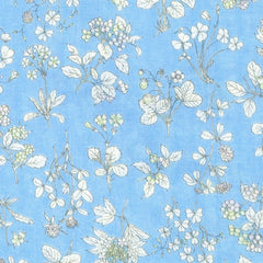 Blossom DOUBLE GAUZE in Baby Blue