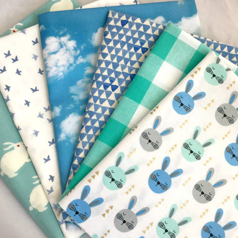 Blue Bunny Fat Quarter Bundle