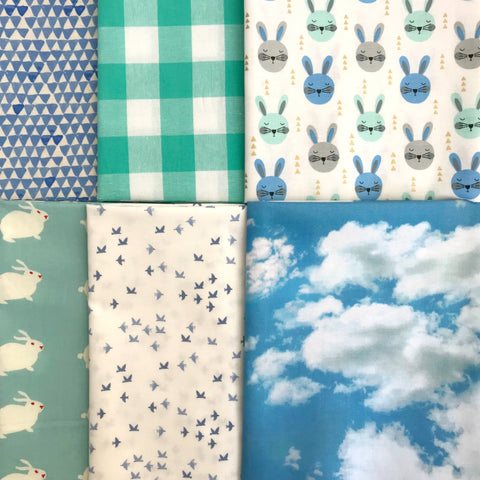 Blue Bunny Half Yard Bundle