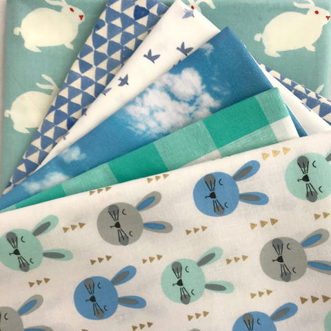Blue Bunny Yardage Bundle